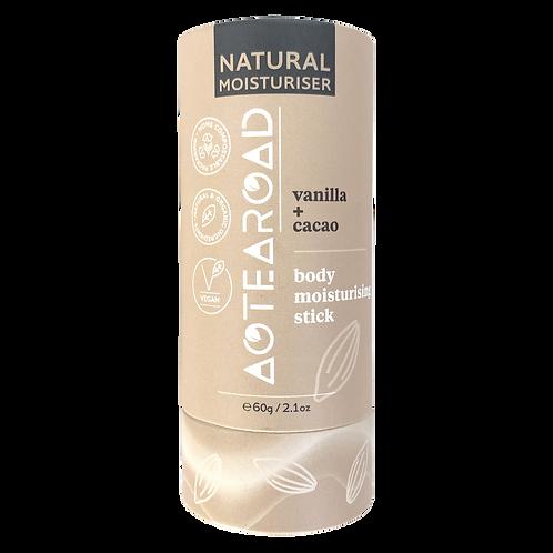Aotearoad Natural Body Moisturiser Vanilla + Cacao 60g