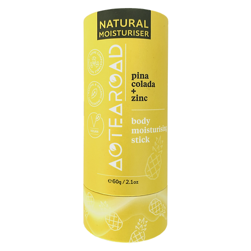 Aotearoad Natural Body Moisturiser Pina Colada + Zinc 60g