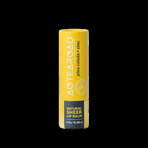 Aotearoad Organic Lip Balm Pinacolada + Zinc 8g