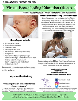 Breastfeeding Education Class GENERAL Fl