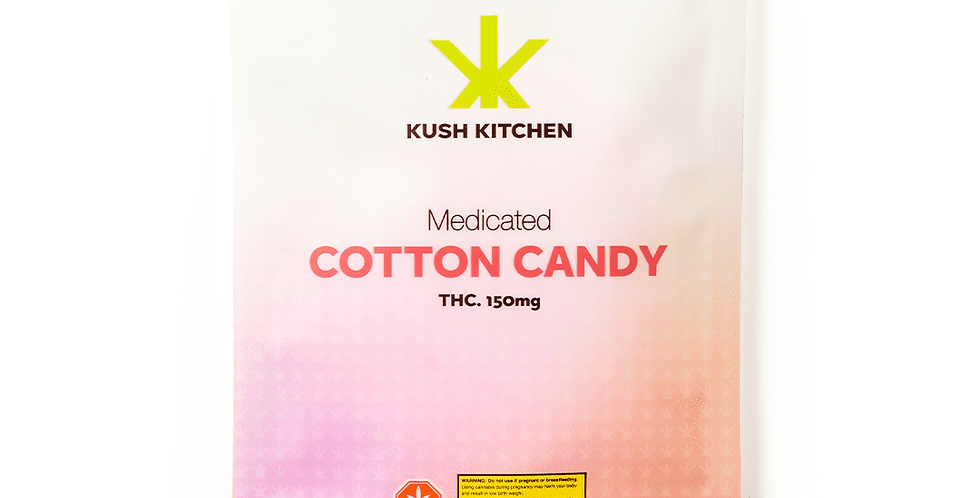 100mg Cotton Candy by Kush Kitchen
