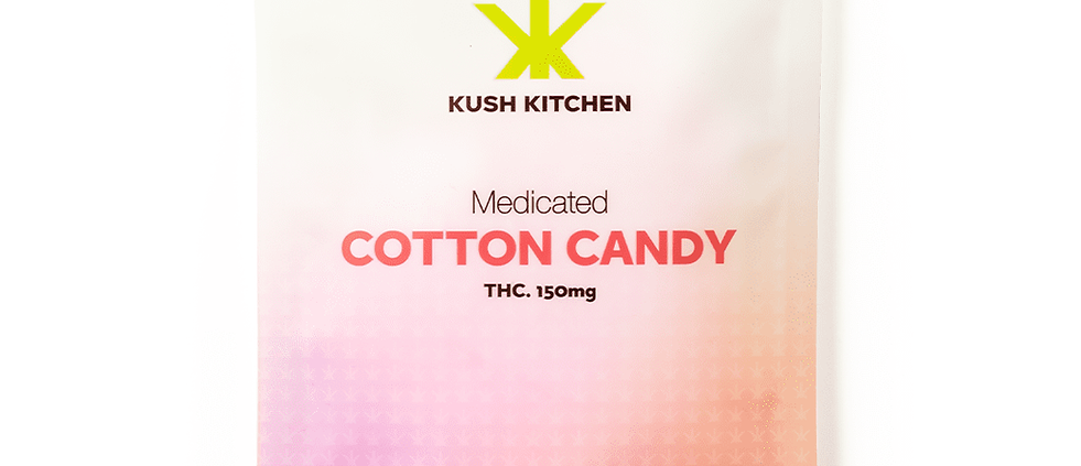 150mg Kush Kitchen   Cotton Candy