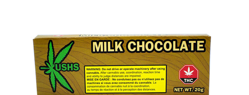 200mg Kush's Milk Chocolate