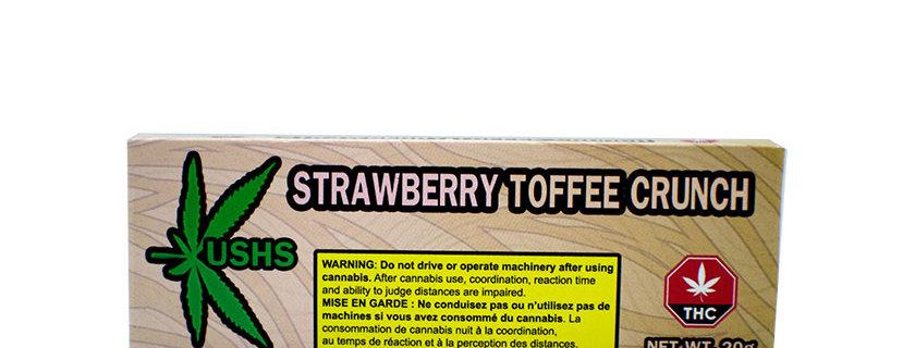 200mg Kush's Strawberry Toffee Crunch