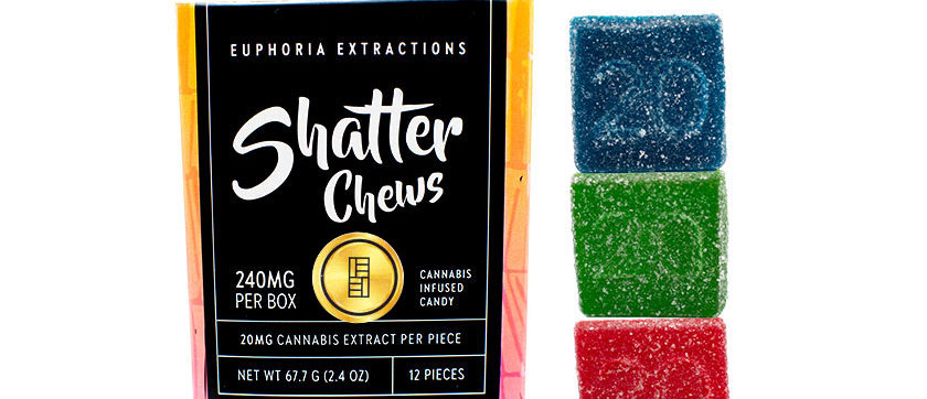 240mg Sativa Shatter Chews by Euphoria Extractions