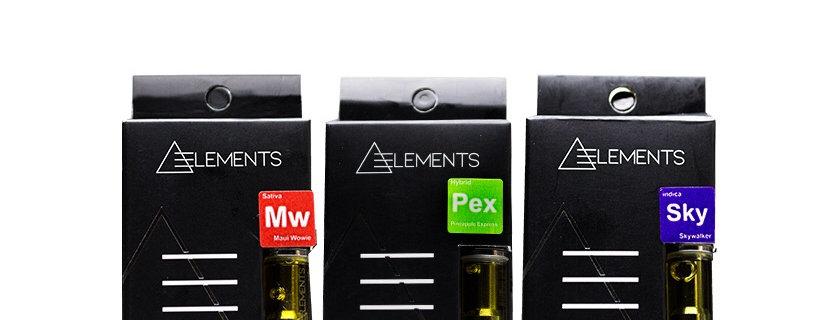 Elements 500mg Vape Cartridge | Indica • Sativa • Hybrid