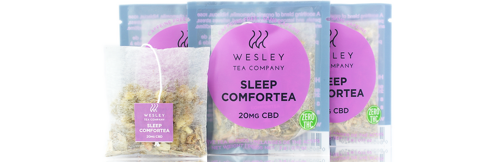 Sleep Comfortea CBD Single | Wesley Tea
