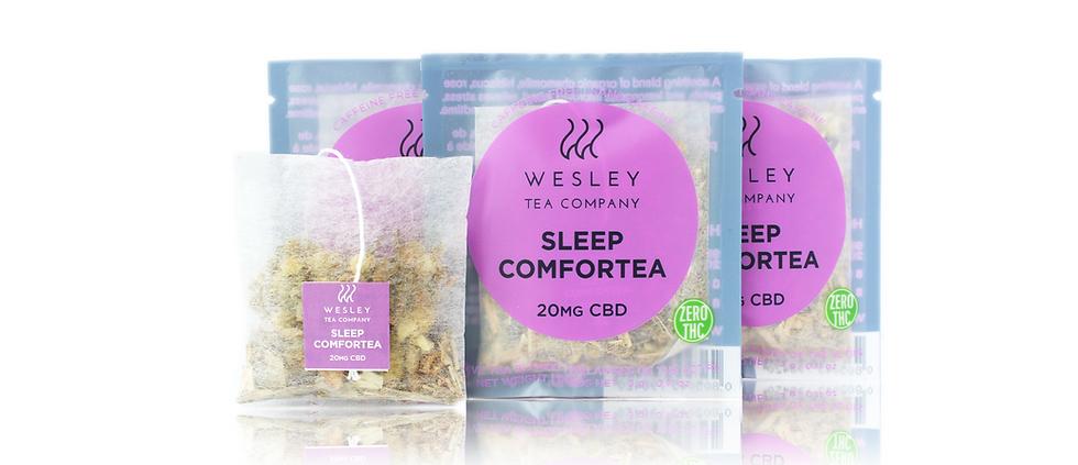 20mg Wesley Tea | Sleep Comfortea CBD Single