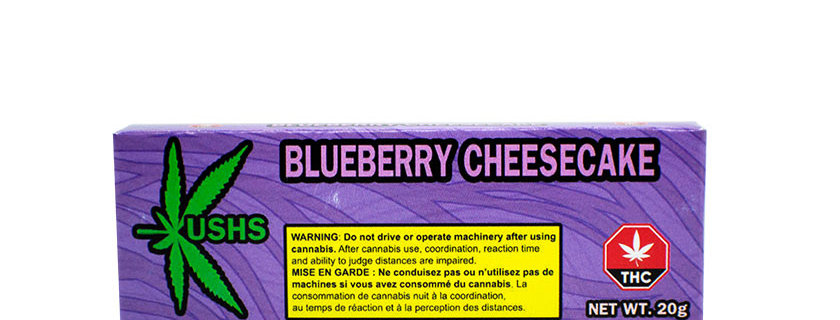 200mg Kush's Blueberry Cheesecake