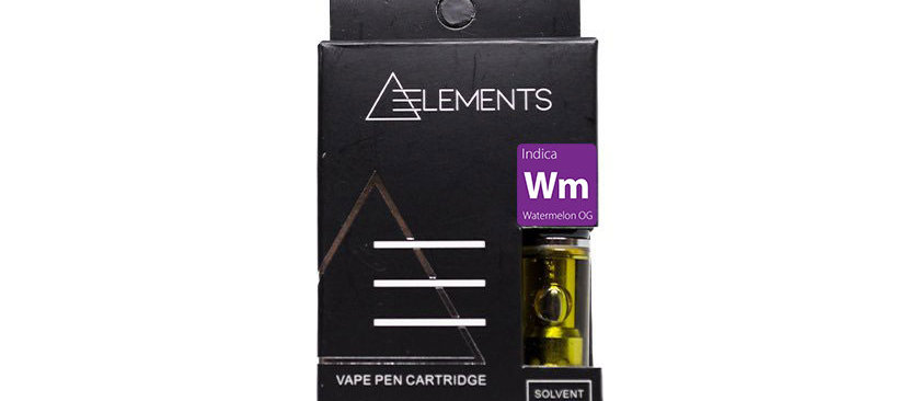500mg Elements | Indica Vape Cartridge