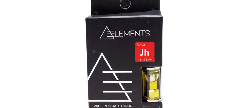500mg Sativa Vape Cartridge by Elements