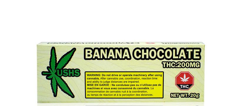 200mg Kush's | Banana White Chocolate