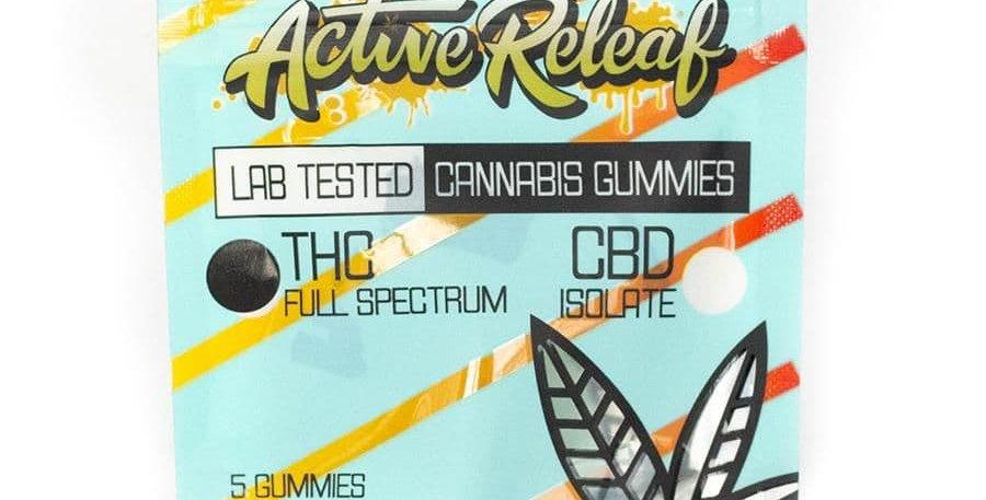 100mg Active Releaf Gummies