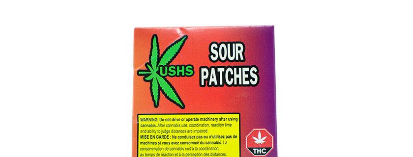 200mg Kush's Sour Patch Gummies (8x25mg)