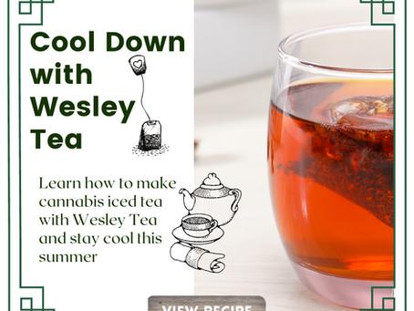 Recipe: How to make cannabis iced tea with Wesley Tea