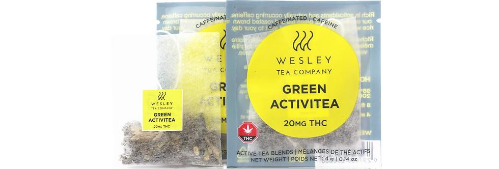 Green Activitea THC Single | Wesley Tea