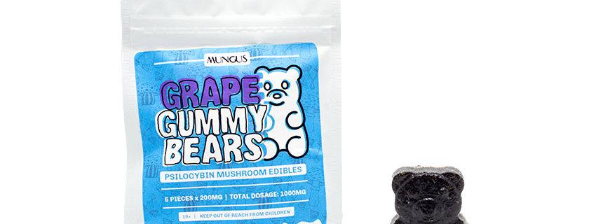 1000mg Mungus Grape Gummies | Psilocybin Mushroom Edible