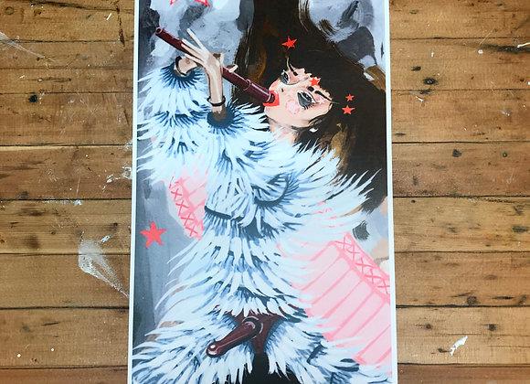 Björk Print