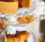 pumpkin pie cheesecake with caramel