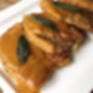 chicken saltimbocca with butternut gravy