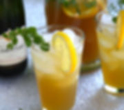 Elderflower, Pear, Green Tea Fizz