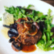 Fillet Of Beef with Madeira Mushroom Sauce