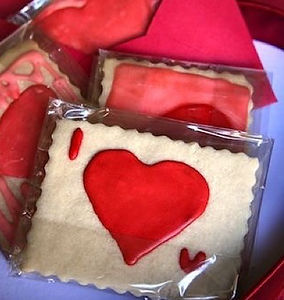 Edible Valentine Card