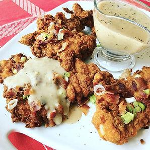 chicken fried chicken with gravy