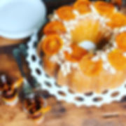 ammareto bundt cake orange glaze