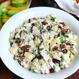 Apple Fennel Chicken Salad