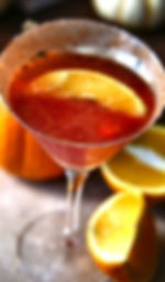 Spiced Orange Cosmo