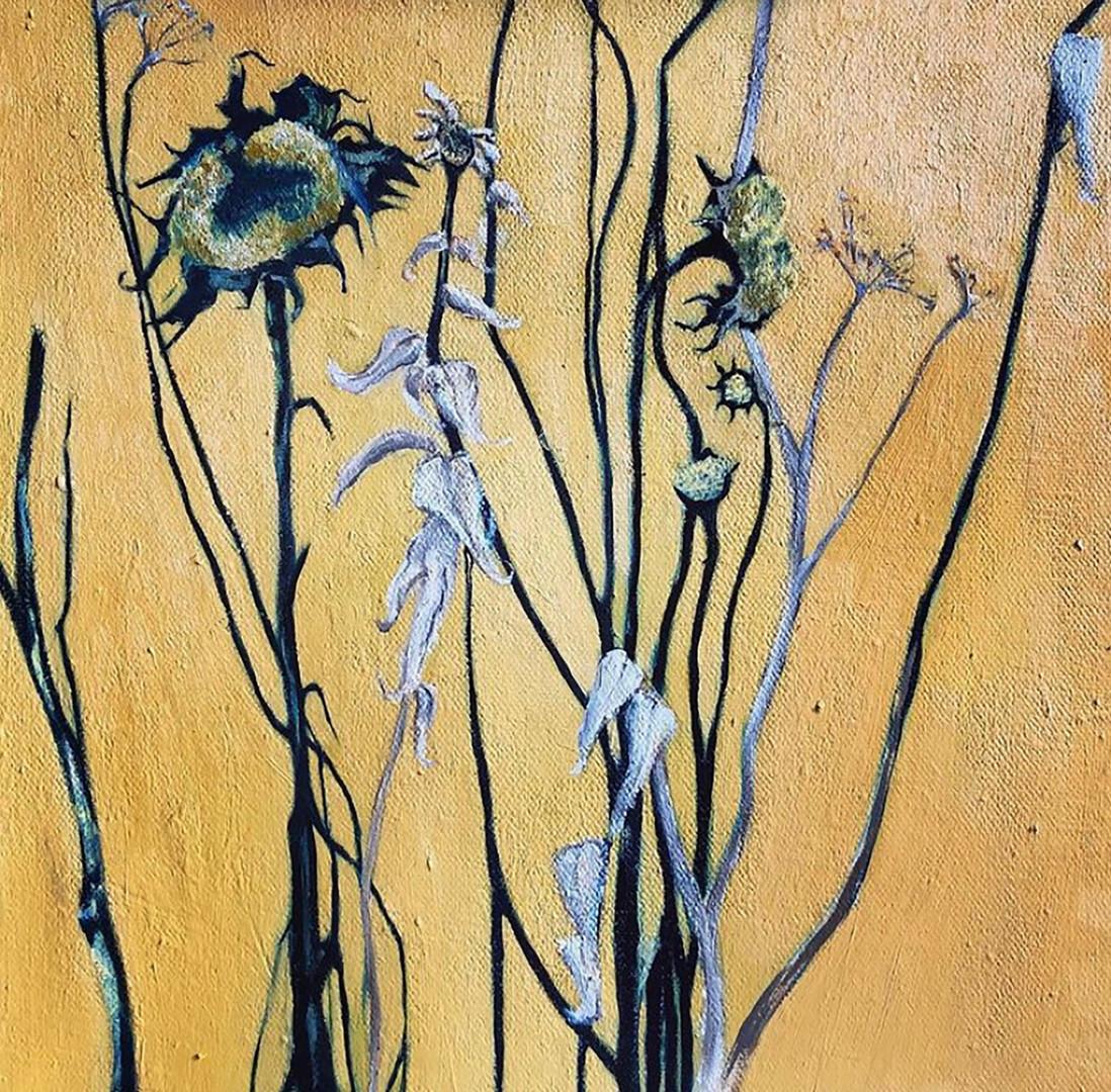 Homage á Van Gogh Oil on Canvas 30x30cm *SOLD*