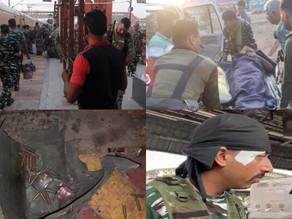 रायपुर रेलवे स्टेशन पर विस्फोट में सीआरपीएफ के 6 जवान घायल