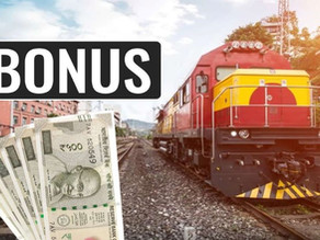 Good news for railway employees, employees will get 78 days bonus