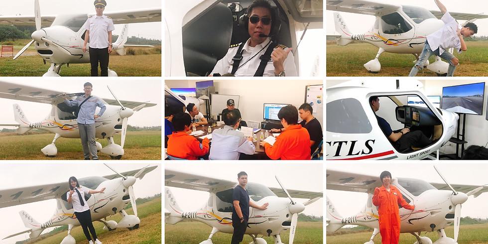 超夯!! 輕航機飛行體驗