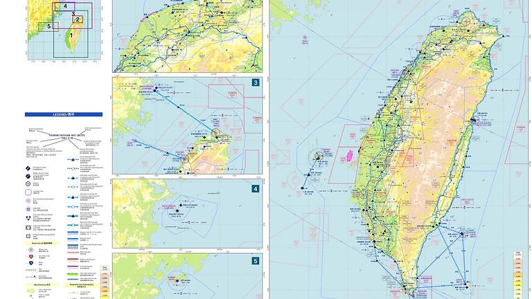 [公告]民航局於2020年03月02日公布更新目視航圖