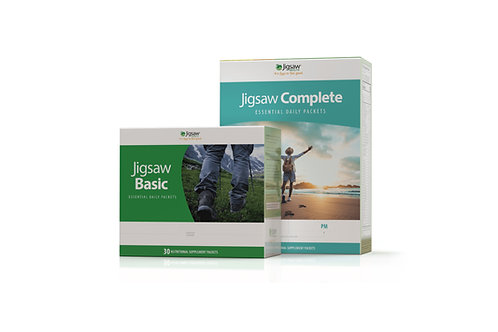 Jigsaw Basic™ and Jigsaw Complete™ Essential Daily Packets