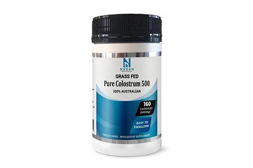 Nxgen grass fed pure colostrum 500mg (160 capsules)