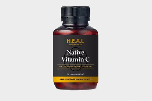 Pete Evans H.E.A.L Organic Native C Capsules 90 Capsules
