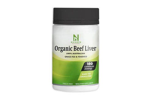 Nxgen Organic Undefatted Beef liver Capsules