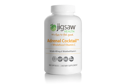 Jigsaw Health Adrenal Cocktail + Vit C 360 capsules