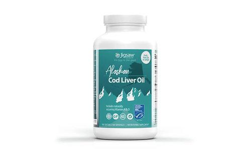 Jigsaw Alaskan Cod Liver Oil 60 Serves