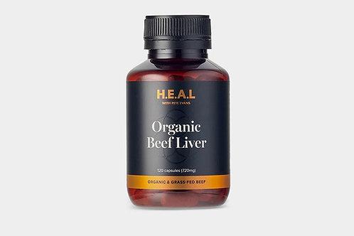 Pete Evans H.E.A.L Organic Beef Liver 120 Capsules