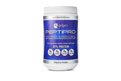 Peptipro Collagen Hydrolysate Beef Gelatin Powder 500g