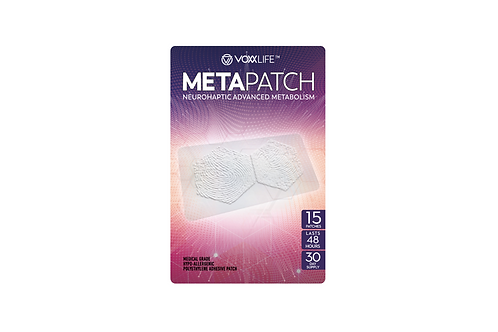VoxxLife Meta Patch 15-Pack (30-day Supply)