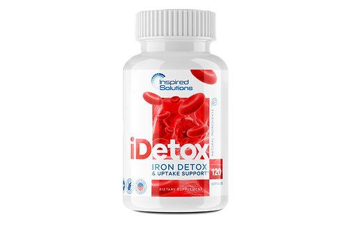 iDetox iron detox 120 vege capsules