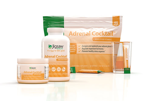 Jigsaw Adrenal Cocktail™  Pack (Jar, Sachets and Capsules)
