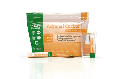Jigsaw Adrenal Cocktail™ + Wholefood Vitamin C  60 packets