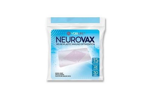 VoxxLife NeuroVax Patch 15-Pack (30-day Supply)