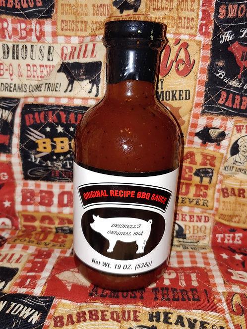 Original BBQ Sauce 19oz Net Wt.